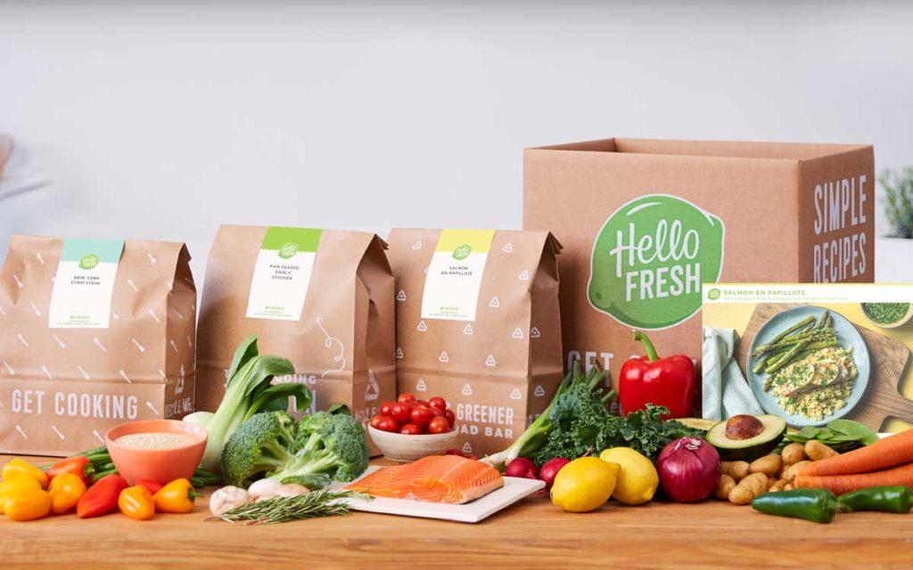 Les sacs de plats prêts à cuisiner HelloFresh